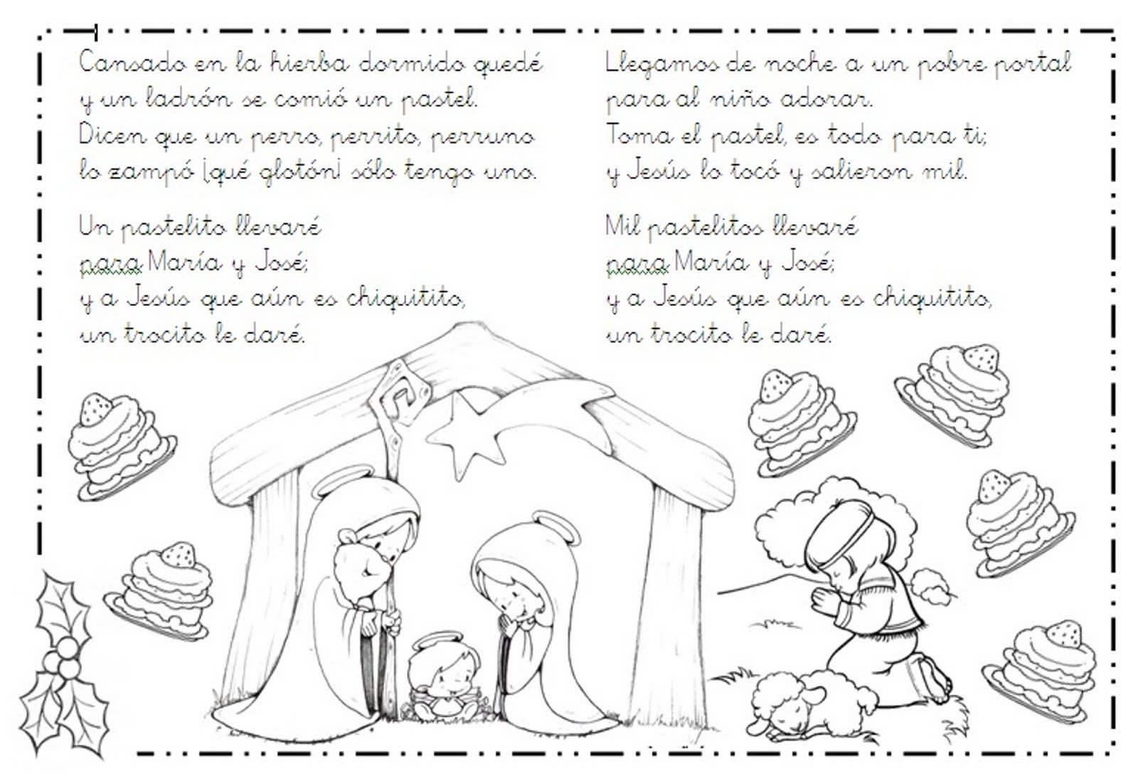 letra y musica de navidad en ingles: