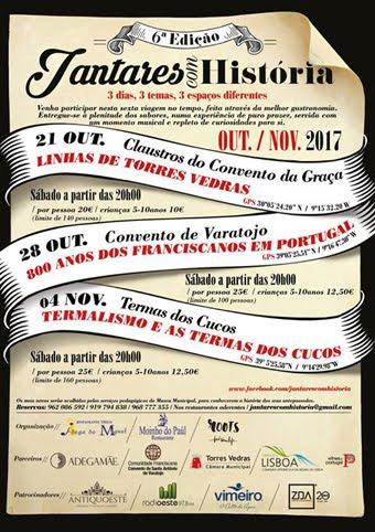 JANTARES HISTORICOS (PORTUGAL)