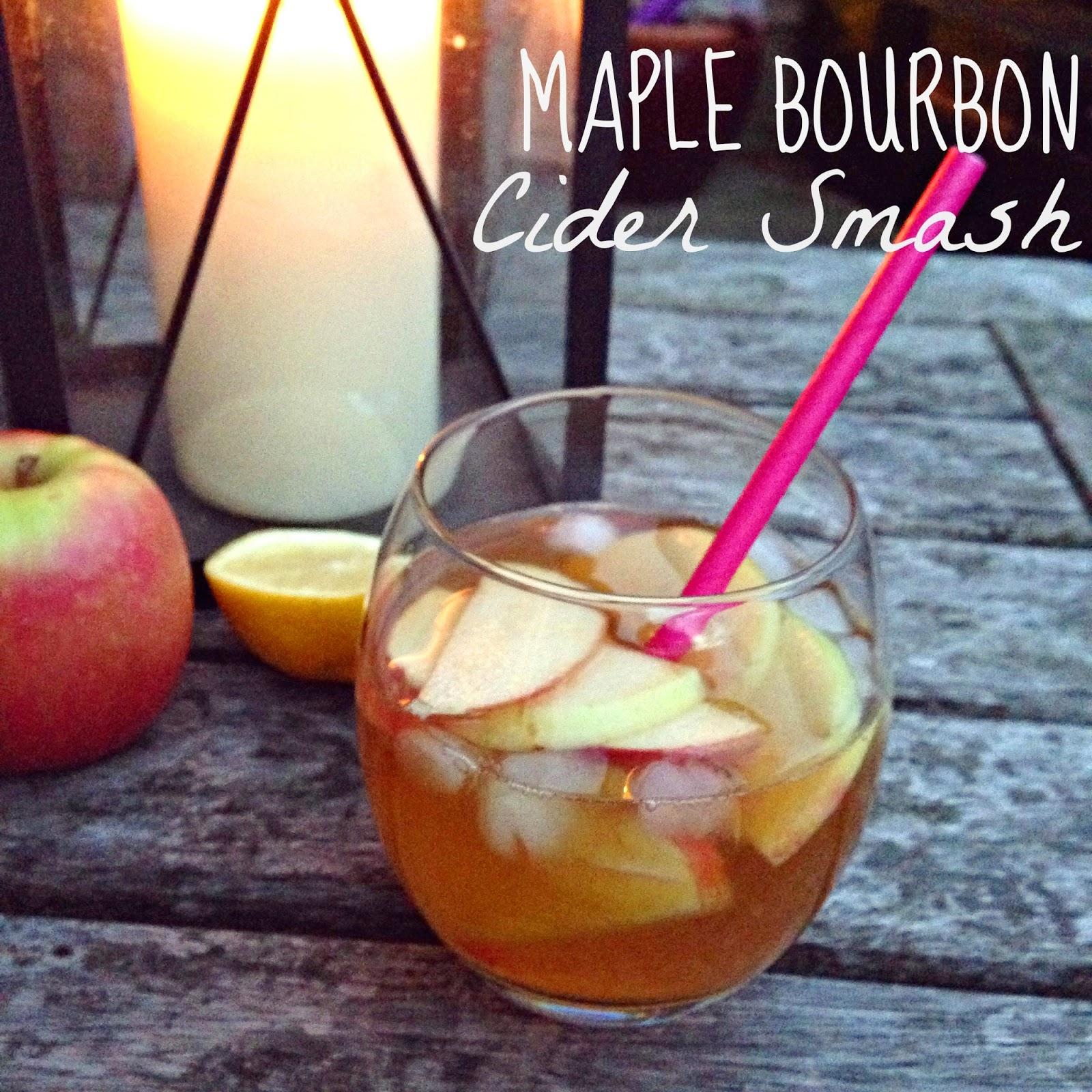 Friday Cocktail: Maple Bourbon Cider Smash | Vinspire