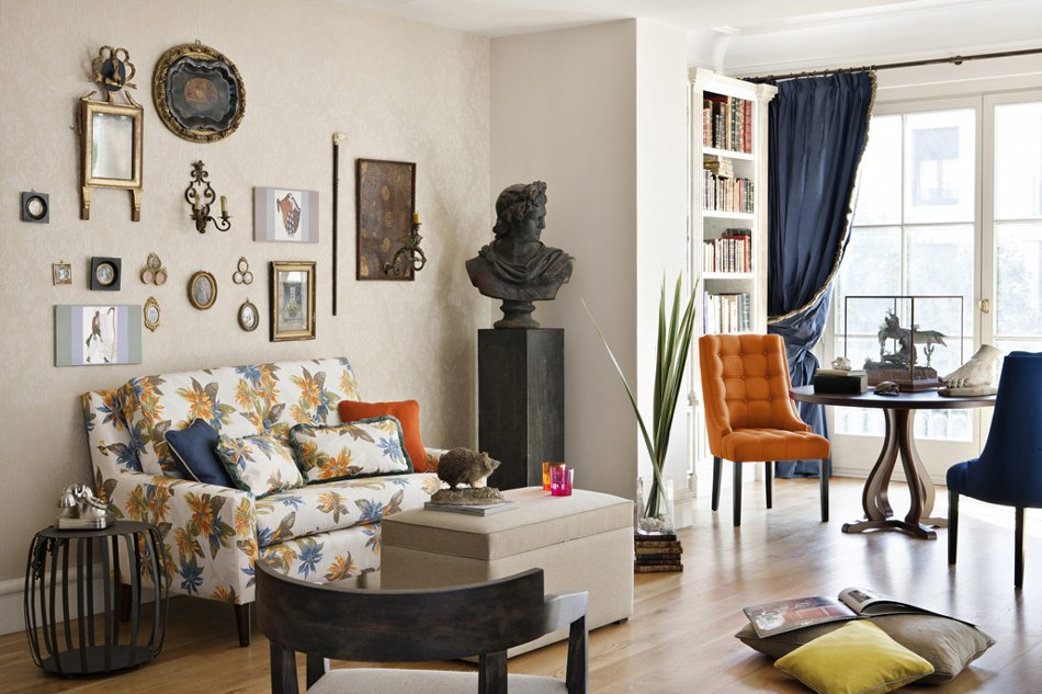 Ecopinturas fernandez estilo cl sico - Salon con estilo ...