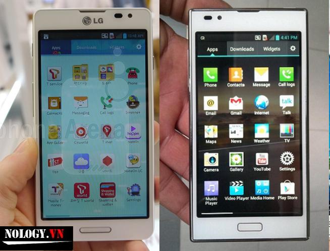so sánh về thiết kế của LG LTE3 và LG LTE2