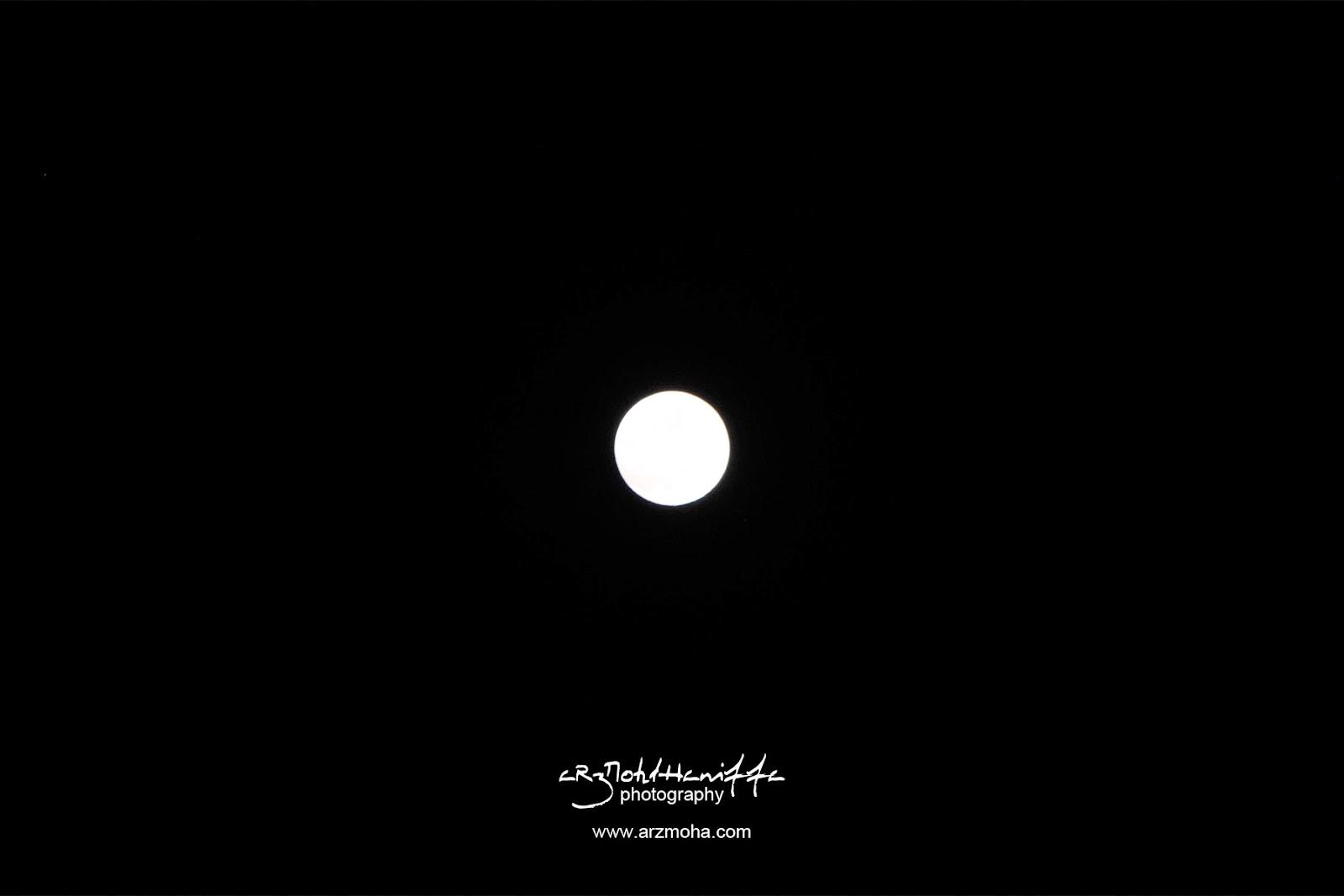 Bulan mengambang, bulan penuh, full moon, arzmoha.com, gambar cantik, arzmohdhaniffa photography, indahnya bulan