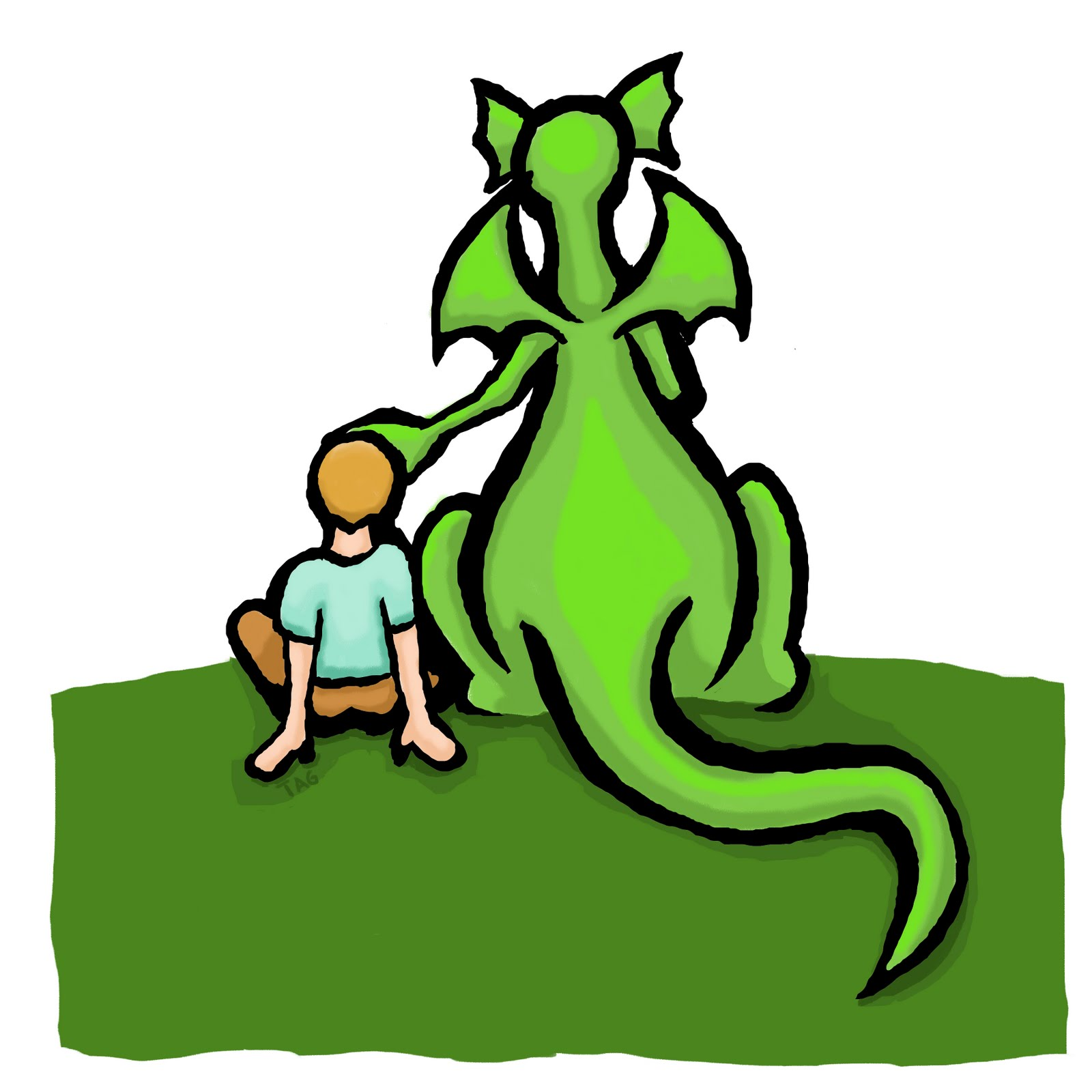 puff the magic dragon coloring pages - every day is fantastic a boy and his dragon