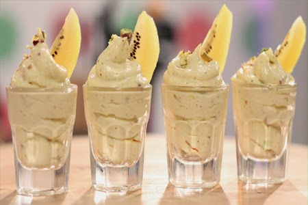 Golden Kiwi Shrikhand