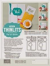 Neue Thinlits Formen für Pop-up-Karten