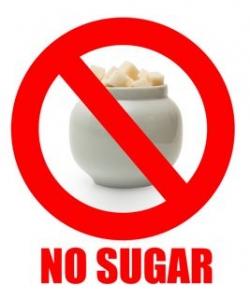Geen suiker dieet