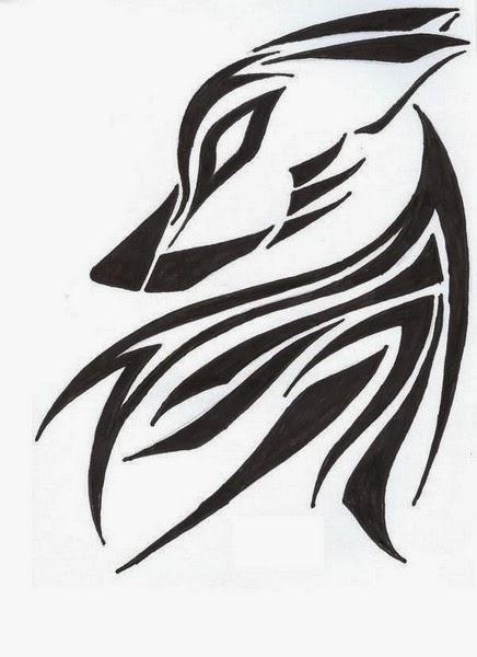 Best Tribal Wolf Tattoos (Gallery 1)