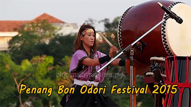 Penang Bon Odori Festival 2015