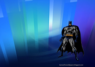 Desktop Wallpapers Batman Dark Knight ready to fight in Crystal Landscape wallpaper