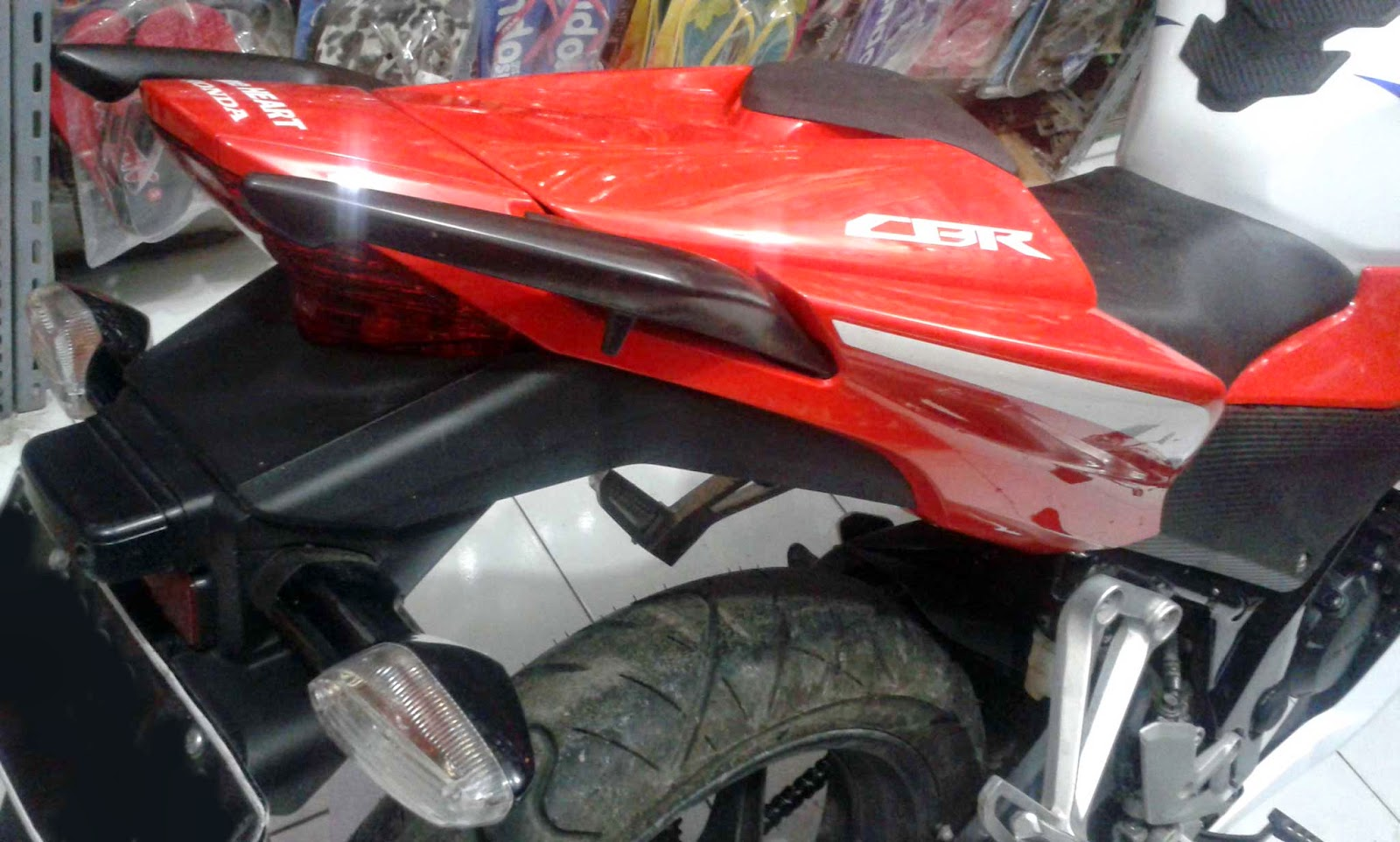 single seater CBR150R lokal