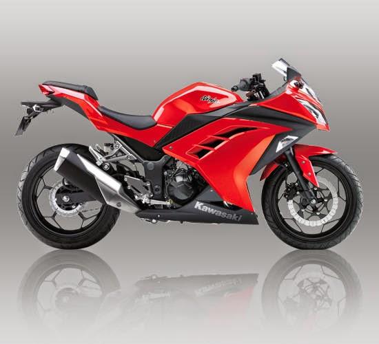 New Ninja 250 FI Merah