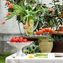 Table douceurs Tulipe pour la fête des mères