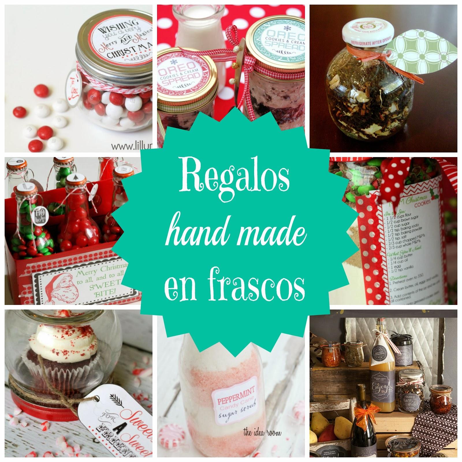 Top 10:  Regalos Hand Made en Frascos