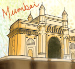 Mumbai Illustrated Map