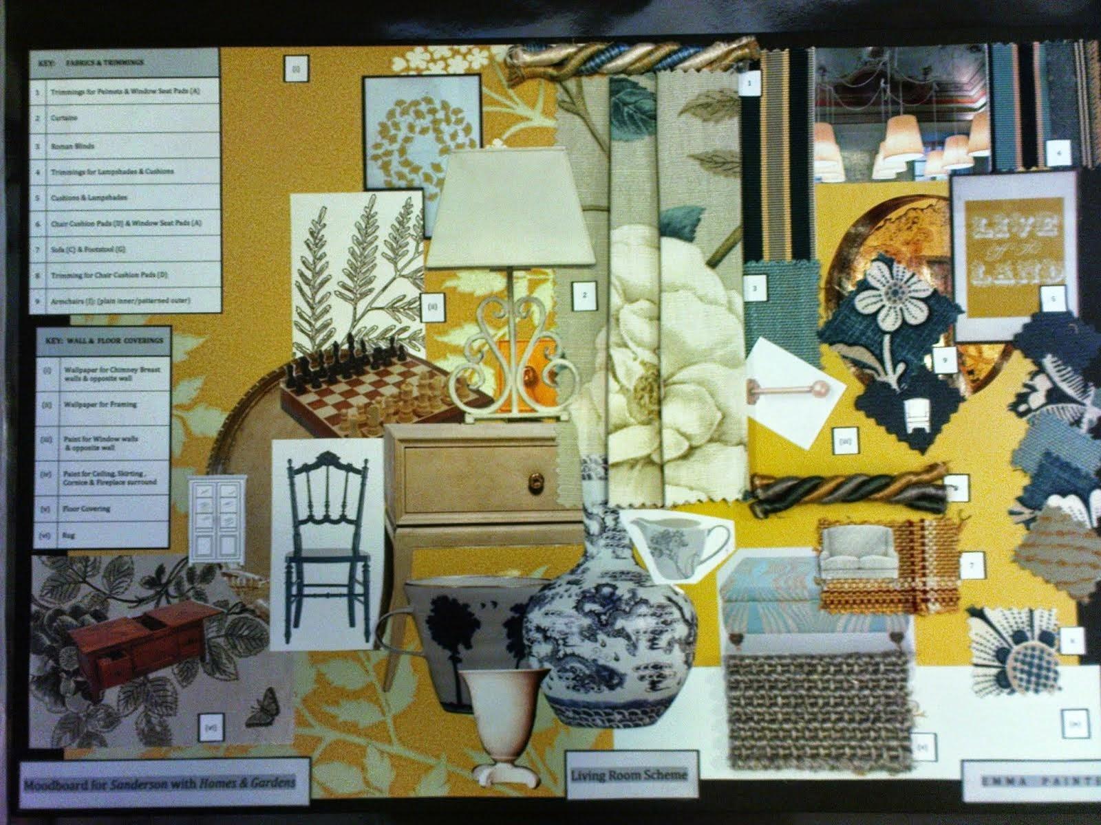Sanderson concept board