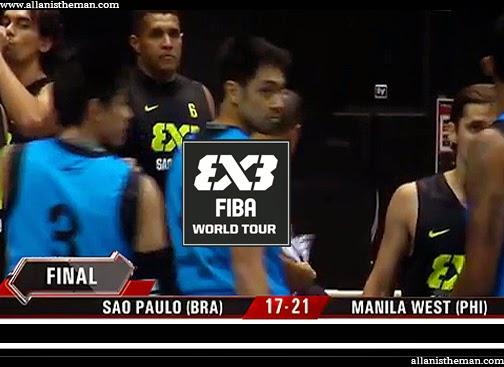 Manila West PHILIPPINES vs. Brazil (FULL REPLAY VIDEO) 2014 FIBA 3x3 World Tour Final