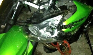 Ustadz Jeffry Al-Bukhori Meninggal Pakai Motor Kawasaki ER6n Ini