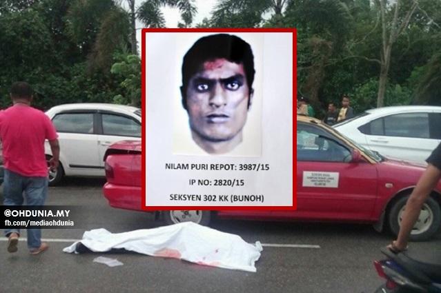 Polis Edarkan Fotofit Suspek Kes Bunuh Pemandu Teksi di Kota Bharu