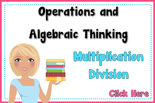 Operations and Algebraic Thinking using Multiplication and Division