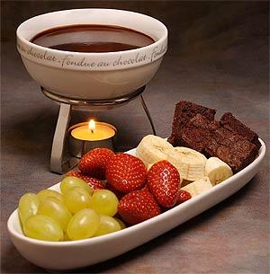 Fondue de chocolate vida sem limites - Fondue de chocolate ...