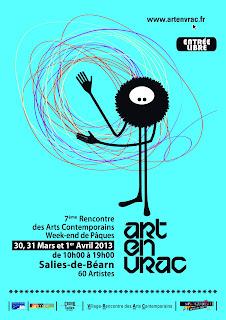 ART EN VRAC 2013   7ème Rencontre des Arts Contemporains Week-end de Pâques