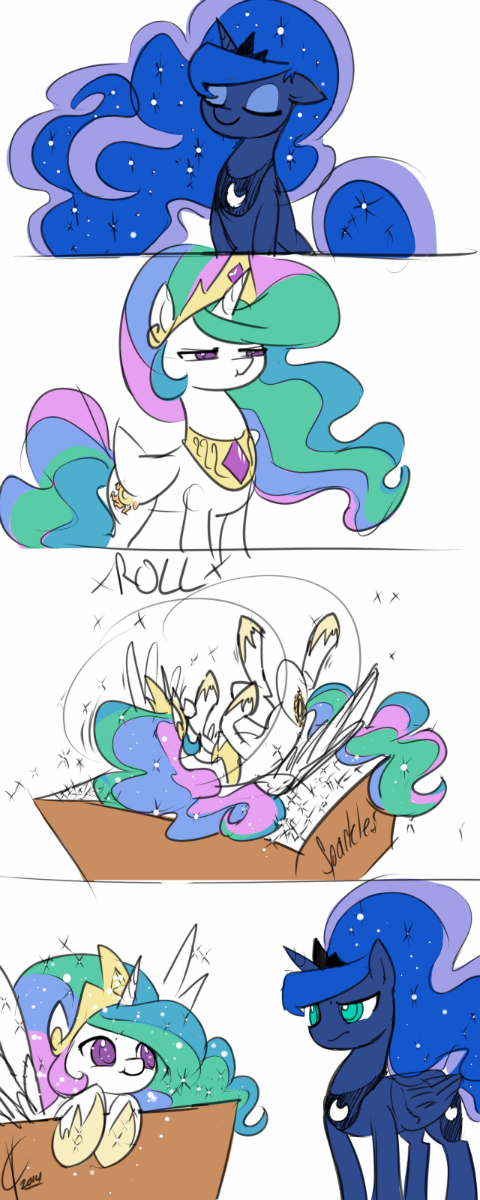 Nopony Likes a Princess Celestia who is Jelly