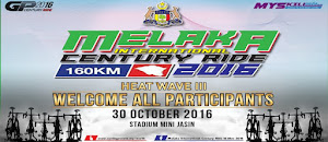Melaka International Century Ride 2016 - 30 October 2016