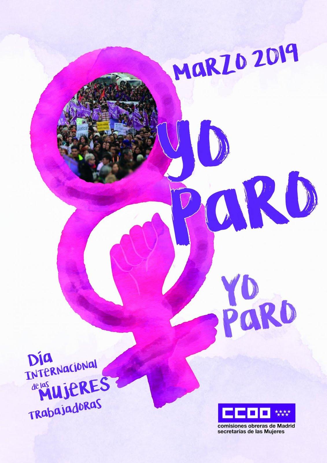 8 de marzo Por la Igualdad efectiva