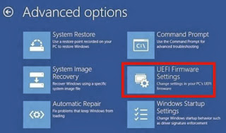 Cara Mengakses Setting UEFI Firmware di Windows 8.1