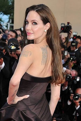 σταρ τατουαζ, celebrities tattoo, , star tattoos,Angelina JolieAngelina Jolie tattoos