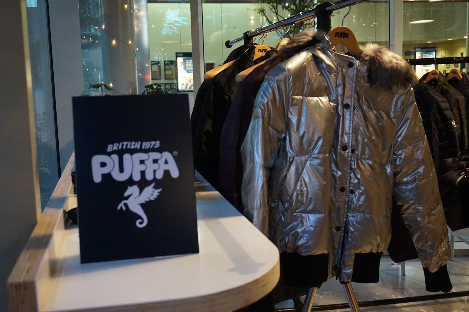 Puffa AW15 Launch