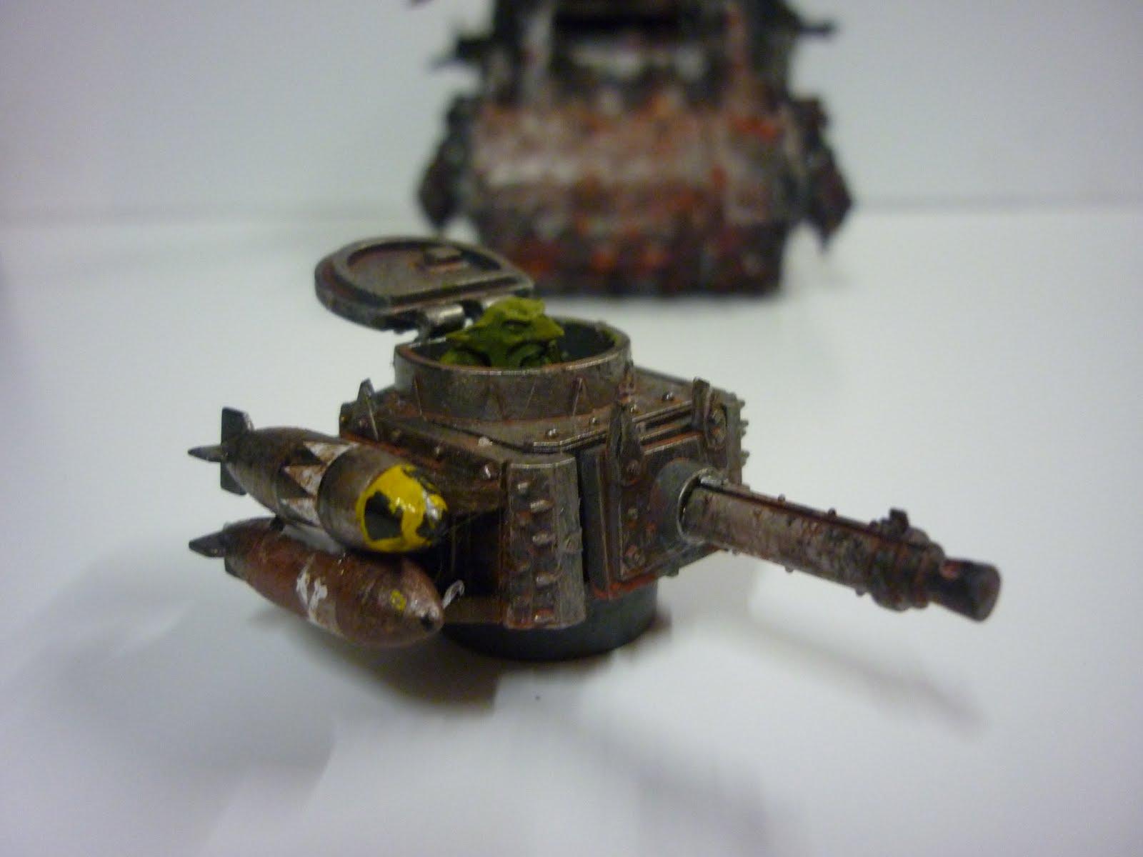 Mon chariot de guerre abondamment converti ci dessus j'ai ajouté des