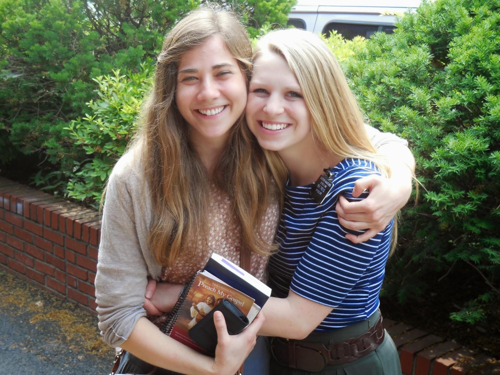 Sister Simonsen and I :)