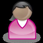 パワポマン(紫服・女子)
