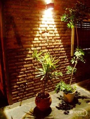Movimientos con sentido la iluminaci n for Antorchas para jardin combustible
