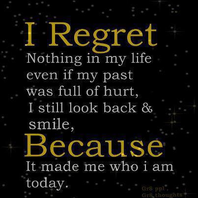 inspirational picture quotes never regret your past