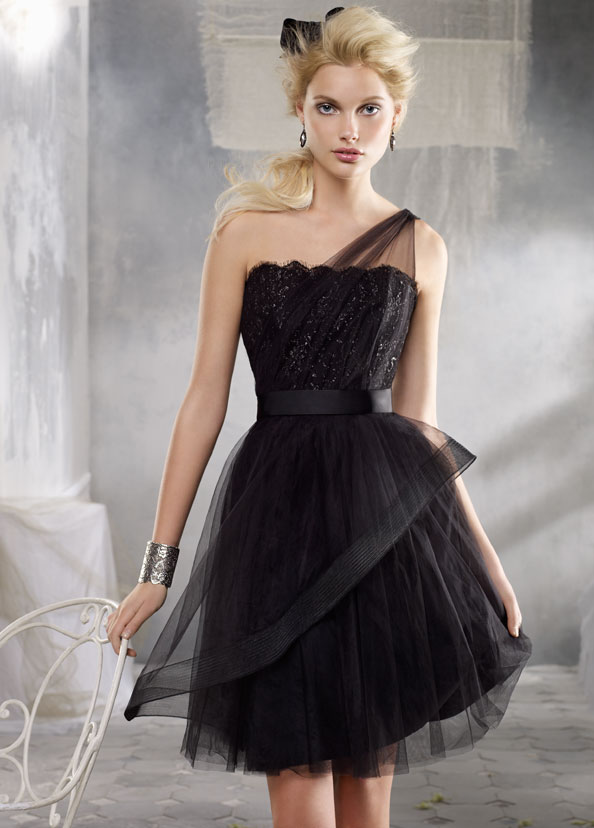 Whiteazalea prom dresses little black dresses for prom for Little black wedding dress