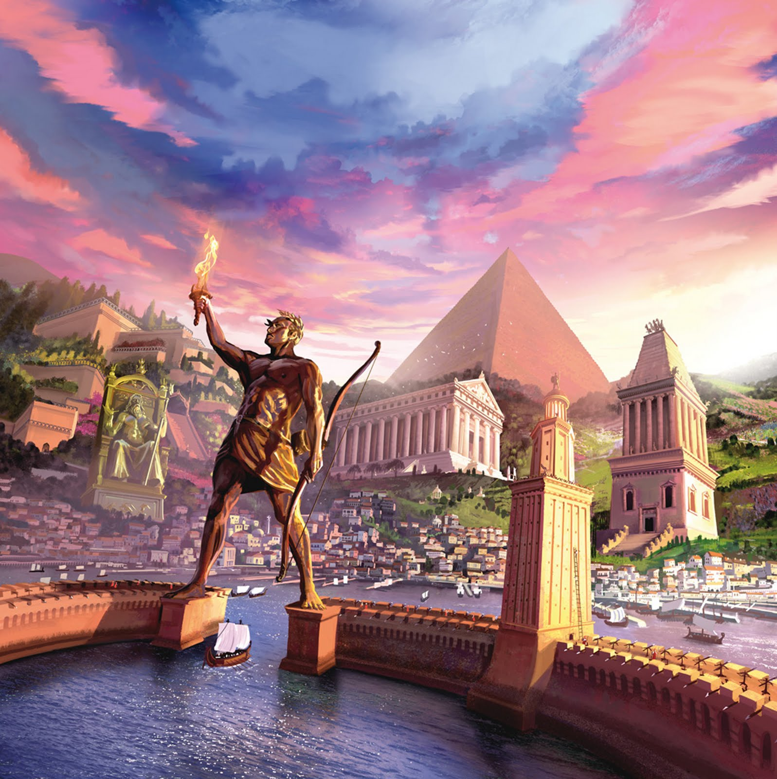 7 wonders of the ancient world download
