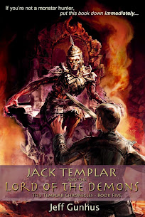 Jack Templar and the Lord of the Demons $25 Cover Reveal