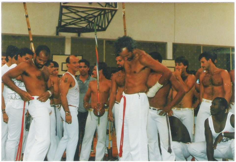 Formatura dos Mestres Skysito e Bailarino por Mestre Tabosa e Amendoim por Mestre Peixinho