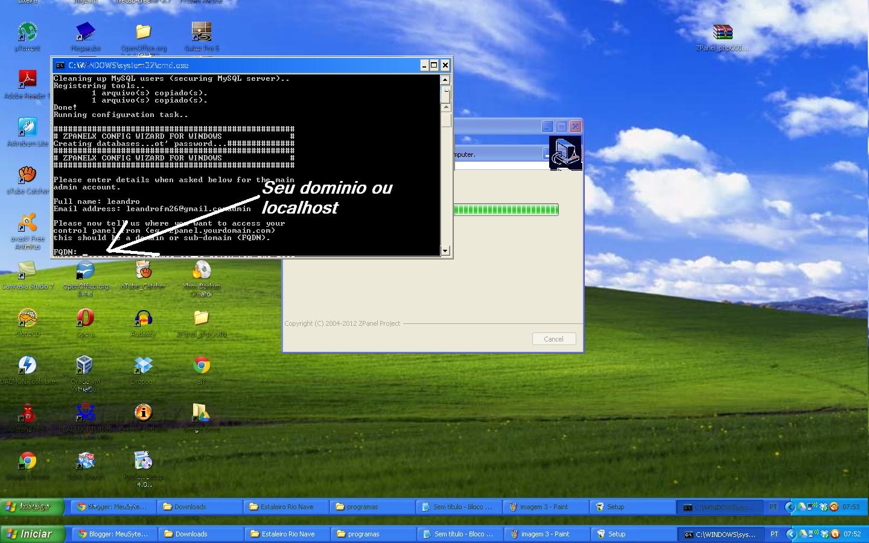 Zpanel como montar um servidor de hospedagem em casa parte - Montar un servidor en casa ...