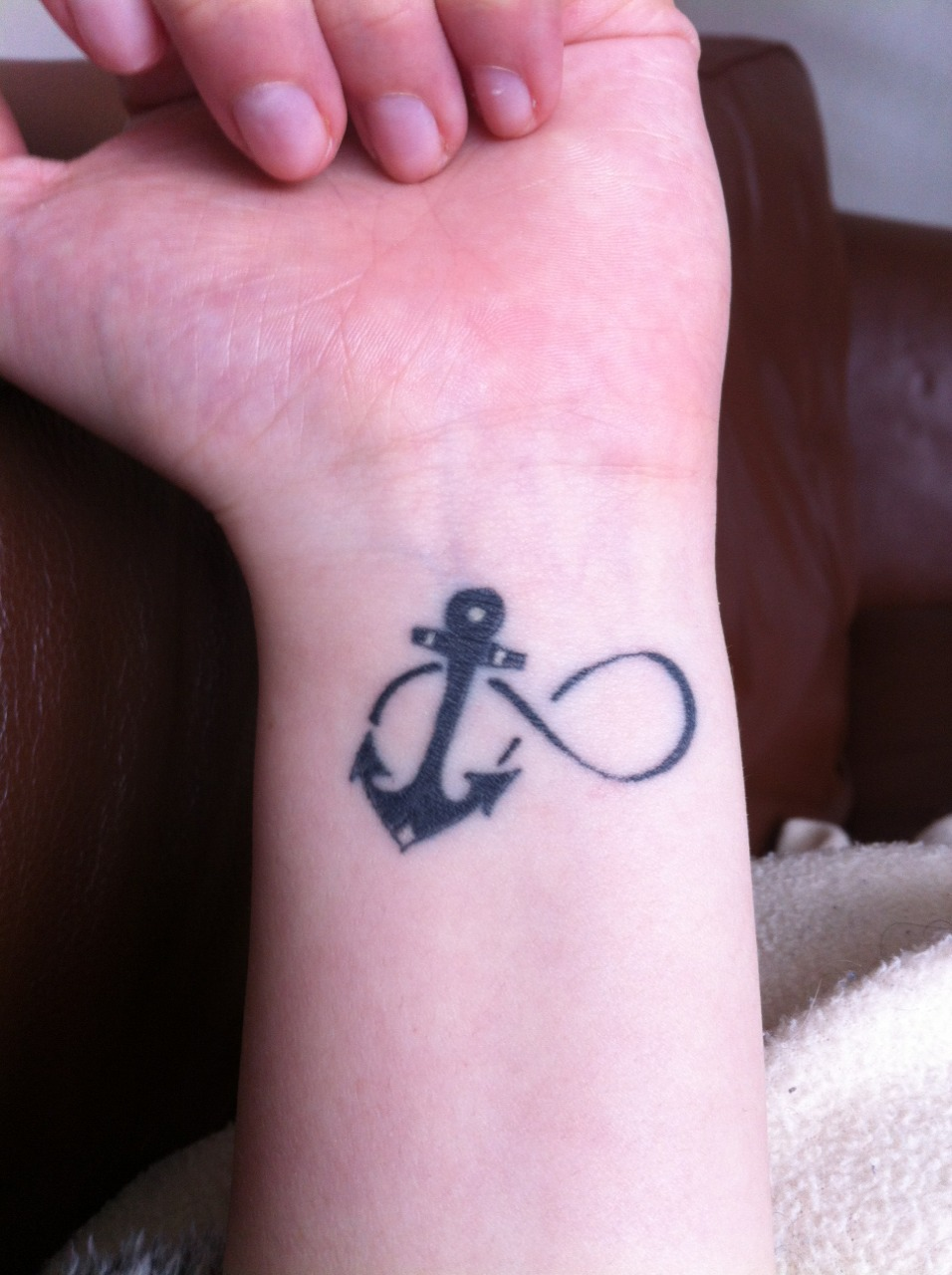 Infinity anchor tattoo meaning