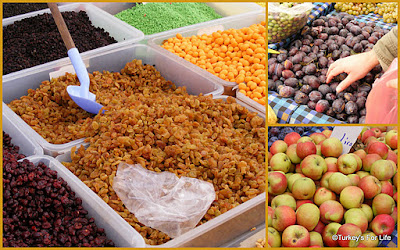 Chutney Ingredients At Fethiye Market