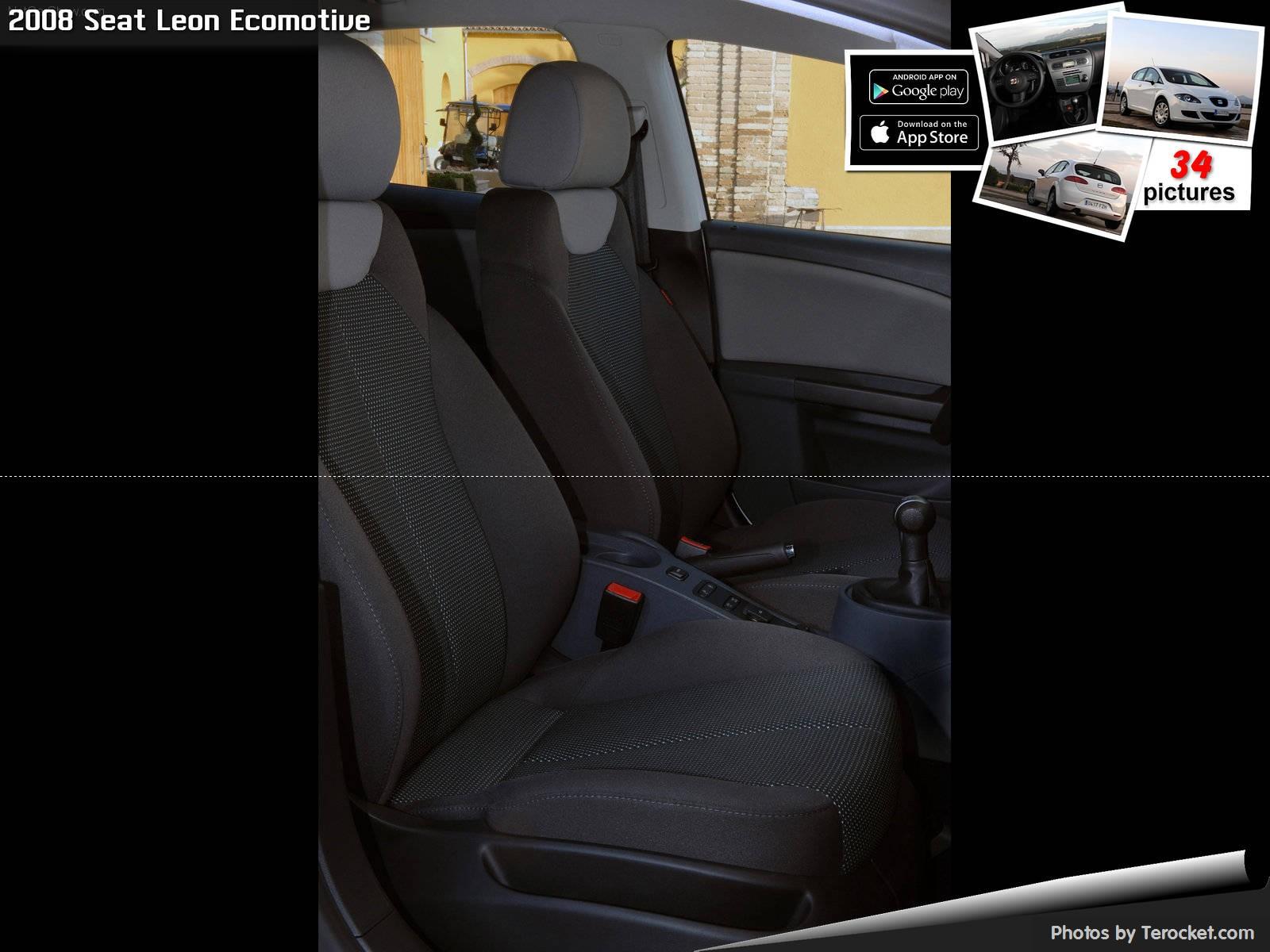 Hình ảnh xe ô tô Seat Leon Ecomotive 2008 & nội ngoại thất