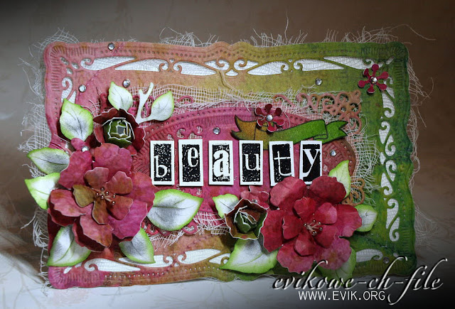 alfabet eight.pl, eight, font, SPELLBINDERS - NESTABILITIES - MAJESTIC ELEMENTS, Sizzix Tim Holtz, Bigz Die, Tattered Florals, Beauty, by Evik, Ewa Jarlińska
