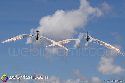 Arpía III de la Fuerza Aérea Colombiana.