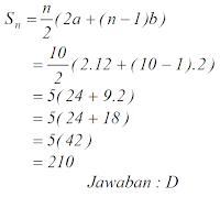 penyelesaian soal aritmatika
