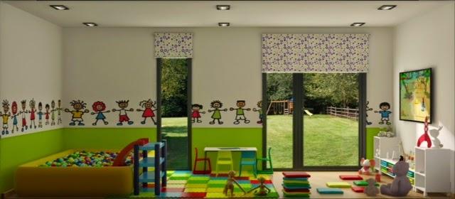 Módulo de jardín ludoteca - Resan Modular - Interior