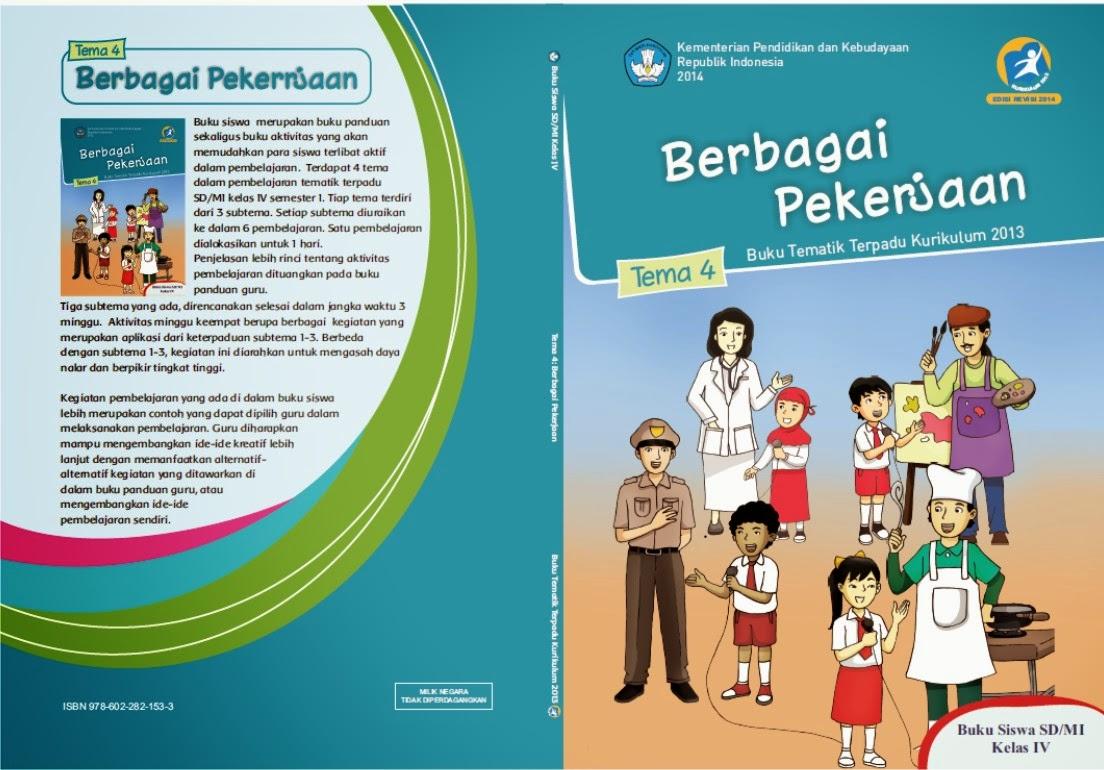 Download Buku Bse Kurikulum 2013 Sd Kelas 4 Tematik Newhairstylesformen2014 Com