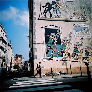Ruta de los comics de Bruselas